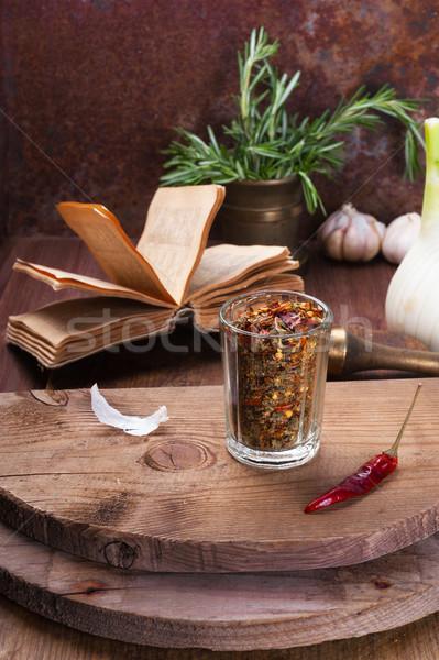 Herbs and spices Stock photo © Coffeechocolates