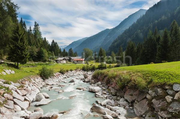 The mountain river Stock photo © Coffeechocolates