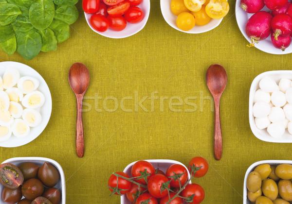 Spring salad Stock photo © Coffeechocolates