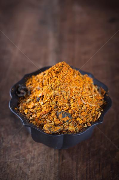 Tradicional ervas temperos asiático cozinhar Foto stock © Coffeechocolates