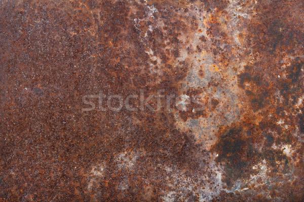 старые ржавые железной окрашенный фон темно Сток-фото © Coffeechocolates