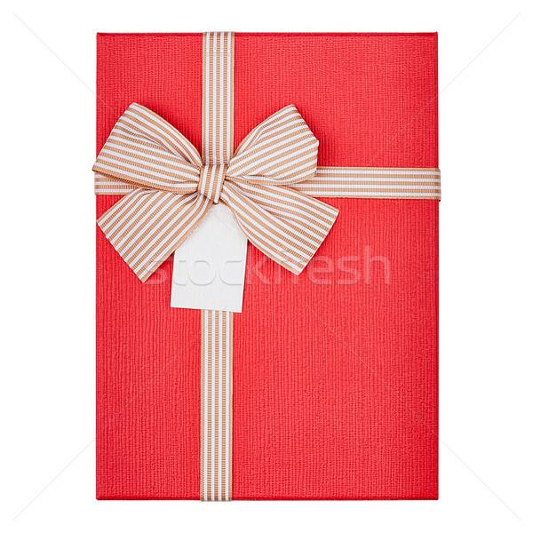 Gift box cover Stock photo © Coffeechocolates