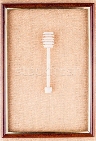 Рortrait of honey dipper Stock photo © Coffeechocolates