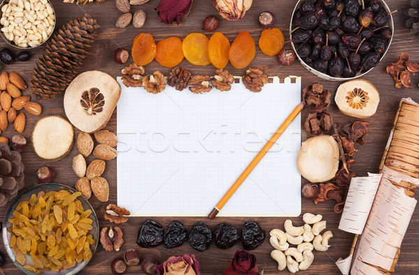 Autumn recipes Stock photo © Coffeechocolates
