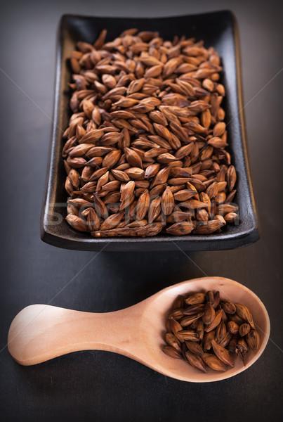 Sementes chinês prato asiático tempero erva Foto stock © Coffeechocolates