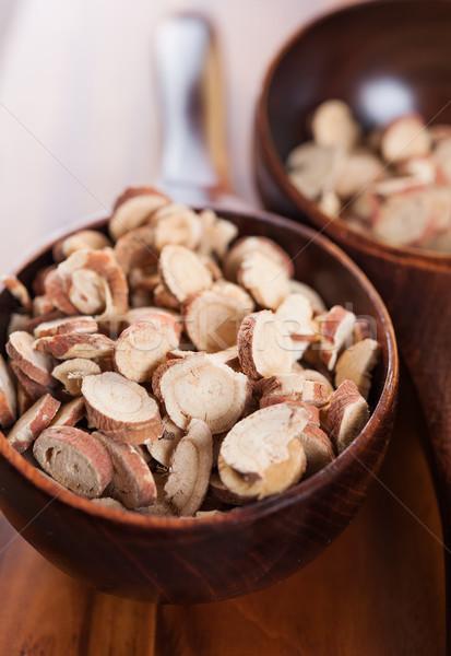 Chopped licorice root Stock photo © Coffeechocolates