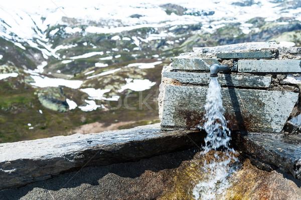 Potable water faucet Stock photo © Coffeechocolates