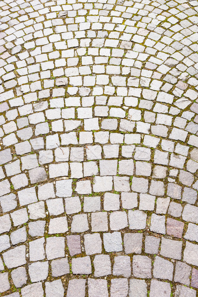 Cobblestone road Stock photo © Coffeechocolates