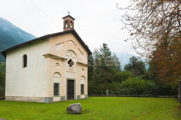 St. John's Church in Saone, Trento Stock photo © Coffeechocolates