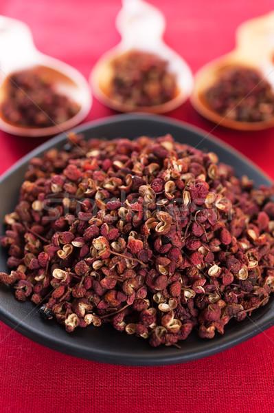 Sichuan red pepper Stock photo © Coffeechocolates