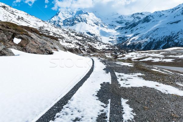 Simplon Pass, Italy Stock photo © Coffeechocolates