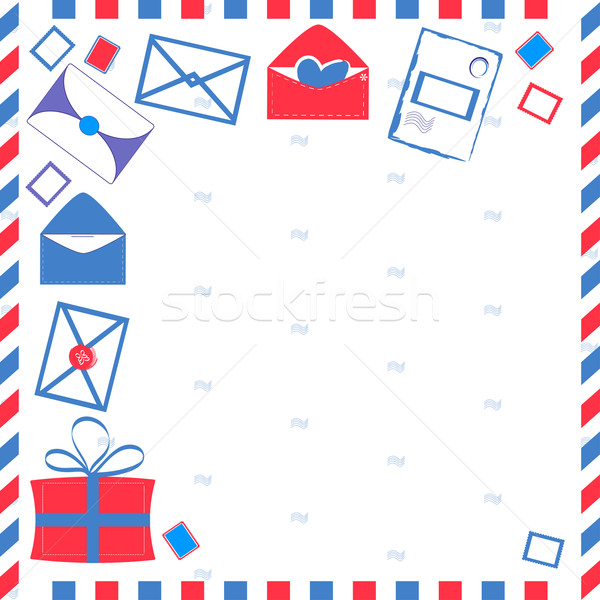 Card on the mail subject Stock photo © Coffeechocolates
