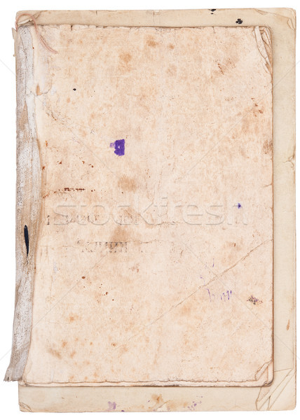 Old sheets of paper Stock photo © Coffeechocolates