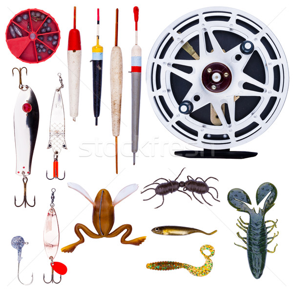 Fishing tackle Stock photo © Coffeechocolates