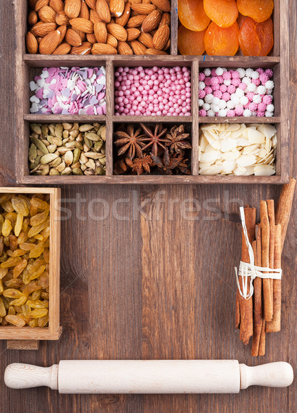 All for holiday baking Stock photo © Coffeechocolates