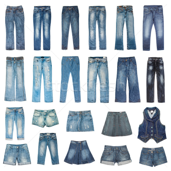 Jeans mode Stock photo © cookelma