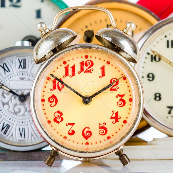 Old clock Stock photo © cookelma