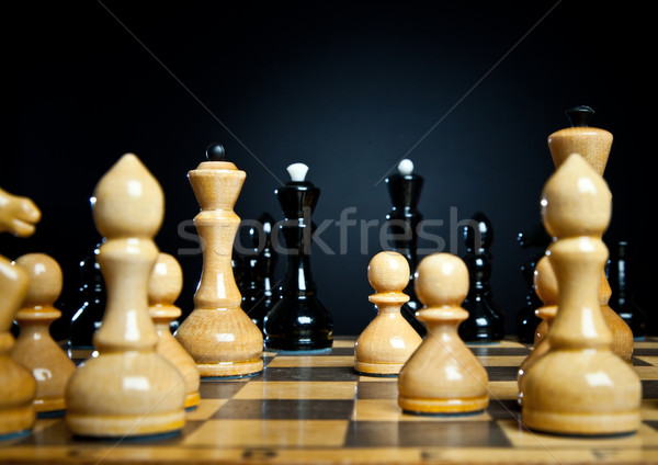 chessmens Stock photo © cookelma
