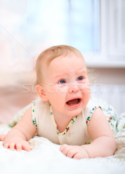 Crying baby Stock photo © cookelma