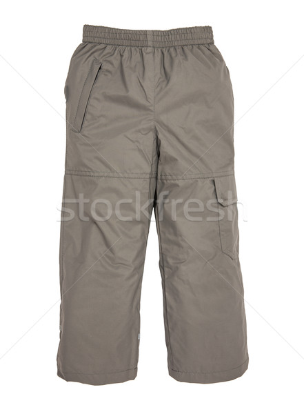 Chaud pants isolé blanche enfant costume Photo stock © cookelma
