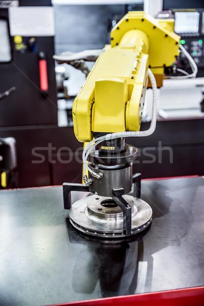 Robotic Arm modern industrial technology. Stock photo © cookelma