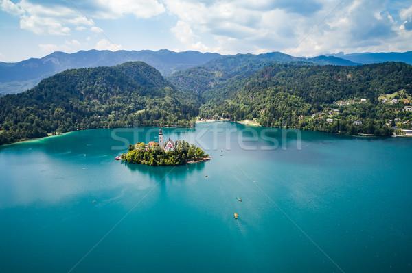 Slovenia bella natura resort lago Foto d'archivio © cookelma