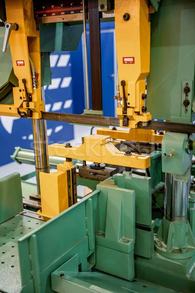 Modern machine Saw Stock photo © cookelma