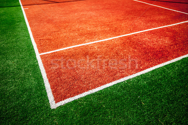tennis court Stock photo © cookelma