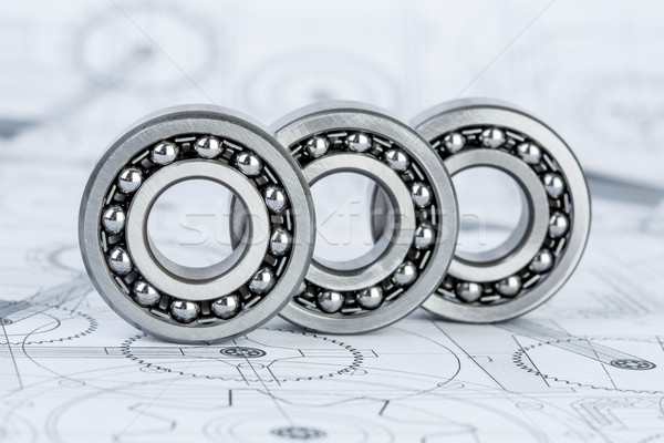 Technical drawings Stock photo © cookelma
