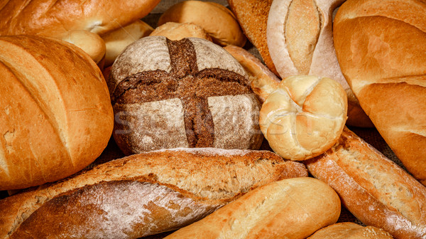 Breads and baked goods Stock photo © cookelma