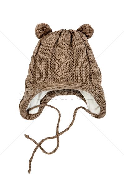 Children's winter hat Stock photo © cookelma