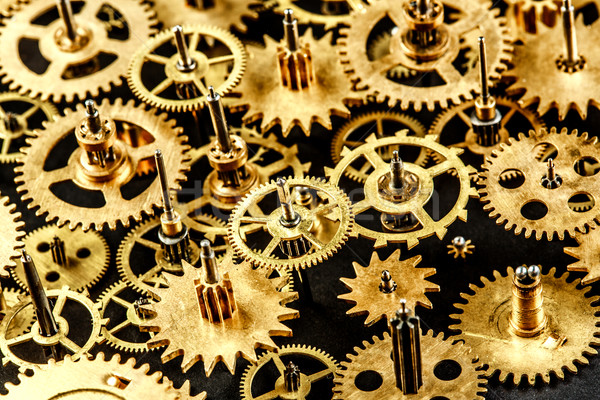 old mechanism background Stock photo © cookelma