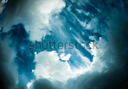 небе звезды фото текстуры солнце аннотация Сток-фото © cookelma