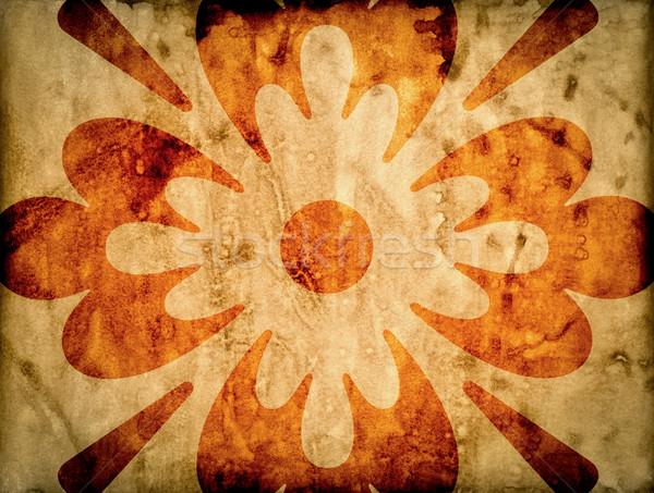 Eski kağıt doku kâğıt arka plan uzay Stok fotoğraf © cookelma