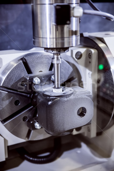Metalworking CNC milling machine. Stock photo © cookelma
