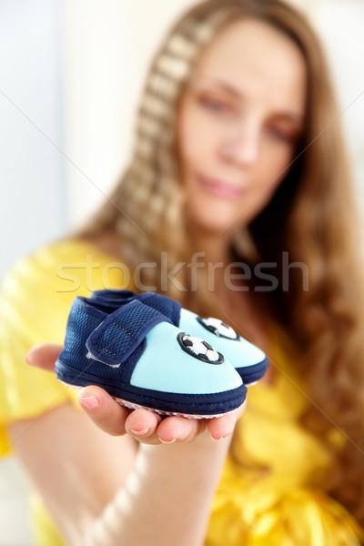 baby's bootee  Stock photo © cookelma