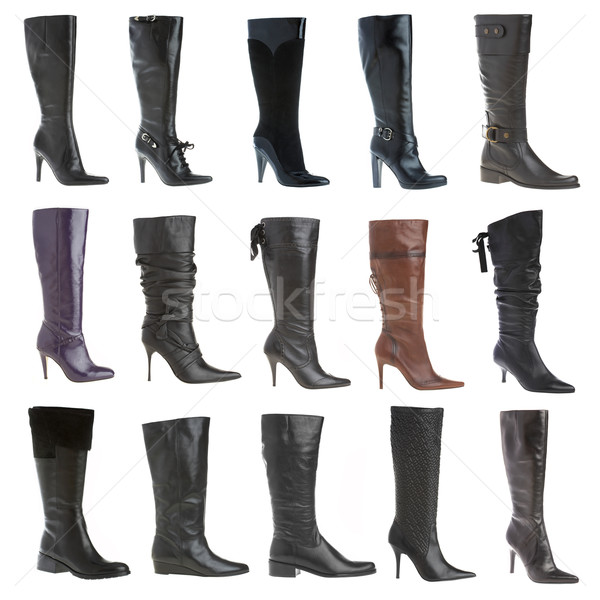 Autumn and winter female footwear Stock photo © cookelma