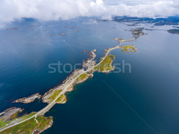 Stock photo: Atlantic Ocean Road