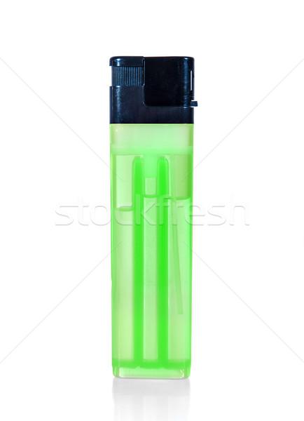 Verde encendedor blanco luz fondo humo Foto stock © cookelma