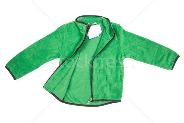 Baby wełny ubrania odizolowany biały dziecko Zdjęcia stock © cookelma