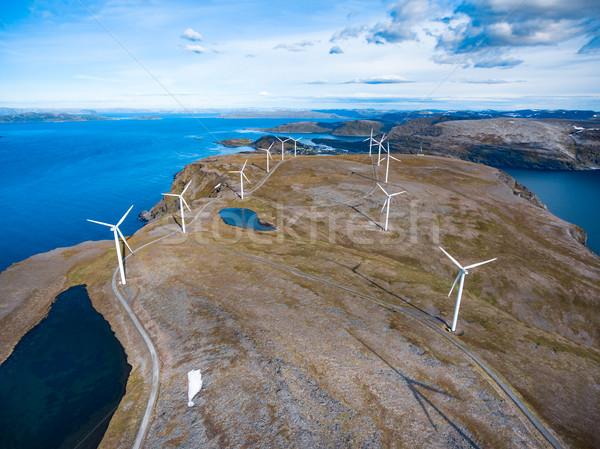 Eléctrica poder producción vista Foto stock © cookelma