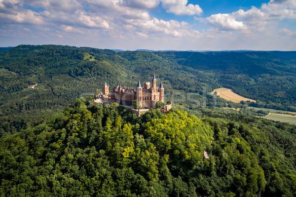 Hohenzollern Castle, Germany. Stock photo © cookelma