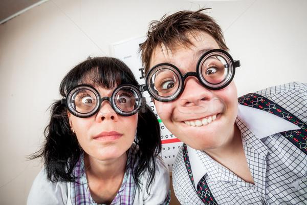 два человека очки служба врач два Сток-фото © cookelma