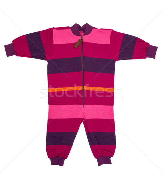 Baby wool clothes Stock photo © cookelma