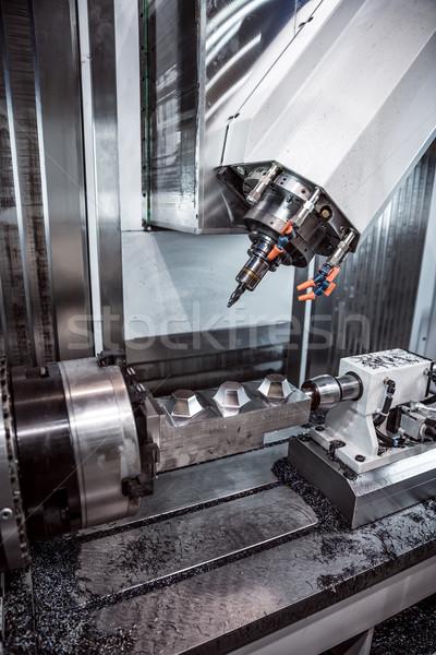 машина металл современных технологий небольшой Сток-фото © cookelma