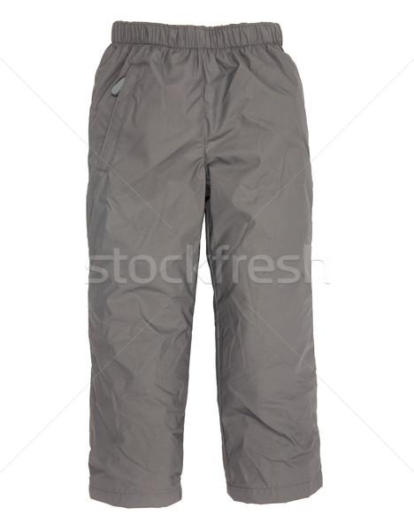 Chaud pants isolé blanche enfant costume Photo stock © cookelma