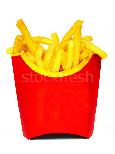 French fries Stock photo © cookelma