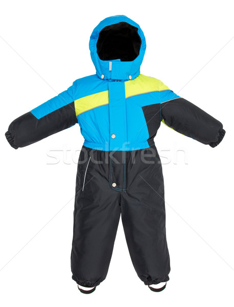 Childrens snowsuit fall Stock photo © cookelma
