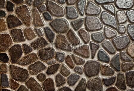 Kamień kamieniarstwo streszczenie tekstury budynku tle Zdjęcia stock © cookelma