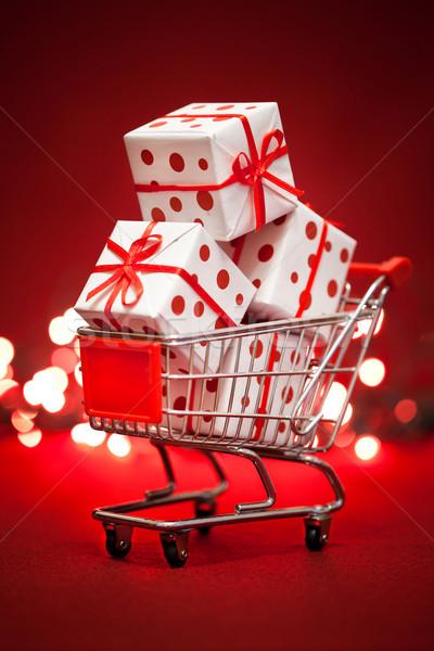 christmas gift Stock photo © cookelma